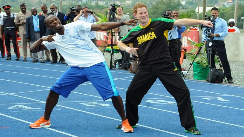 Princ Harry a Bolt