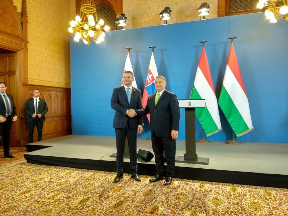 Pellegrini s Orbánom