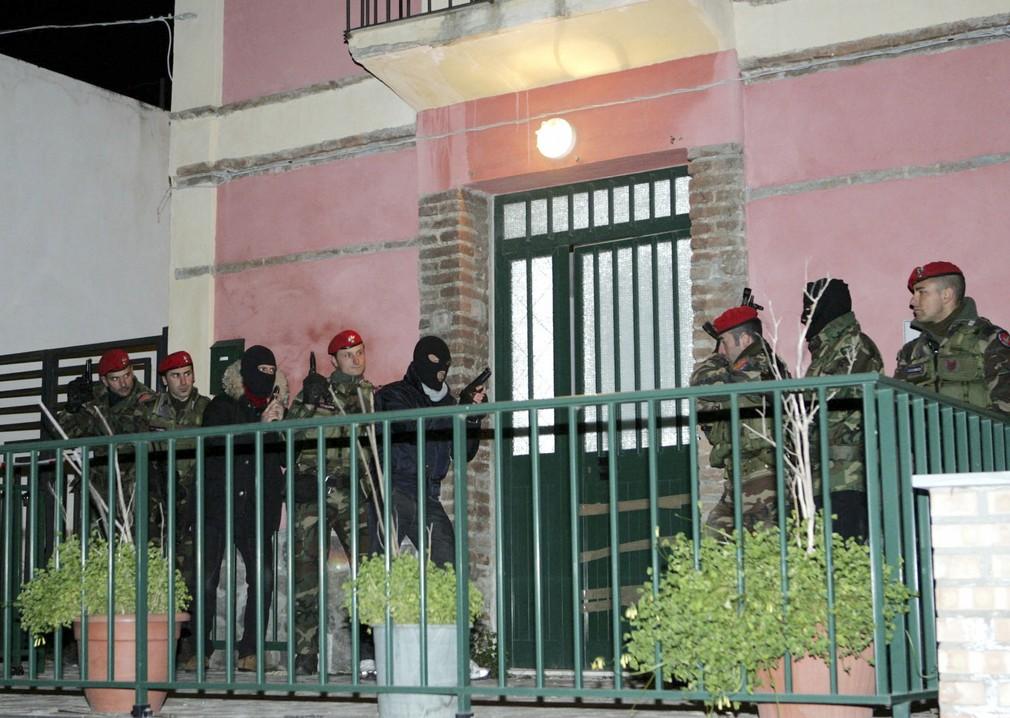 Razia v Taliansku na jeden z klanov