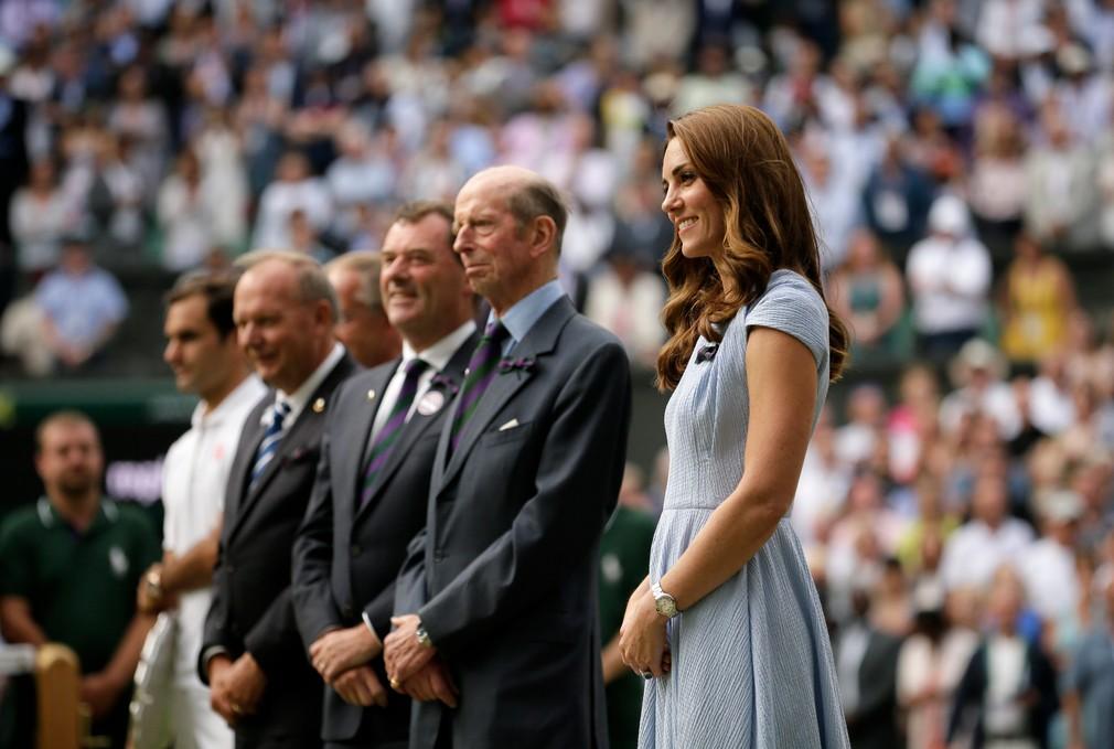 Kate na Wimbledone