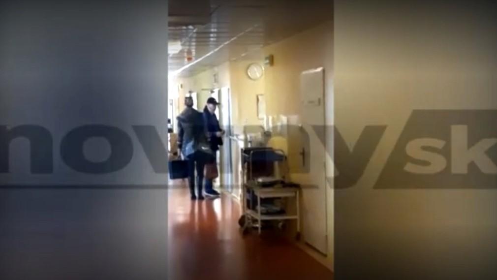 Rusko v nemocnici