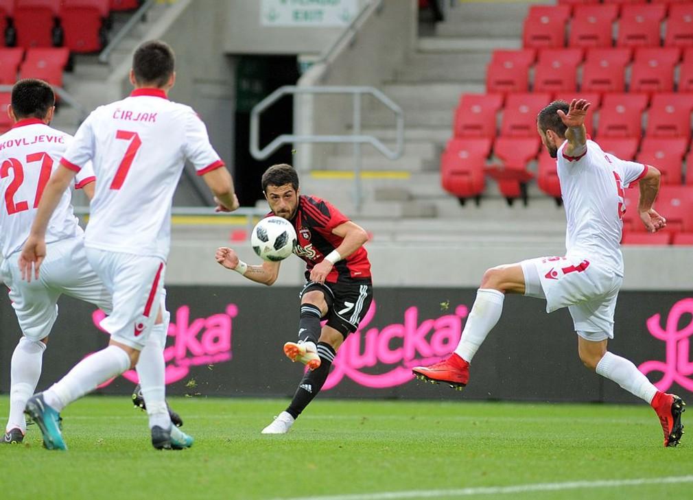 1. predkolo LM 2018/19 Spartak Trnava - Zrinjski Mostar