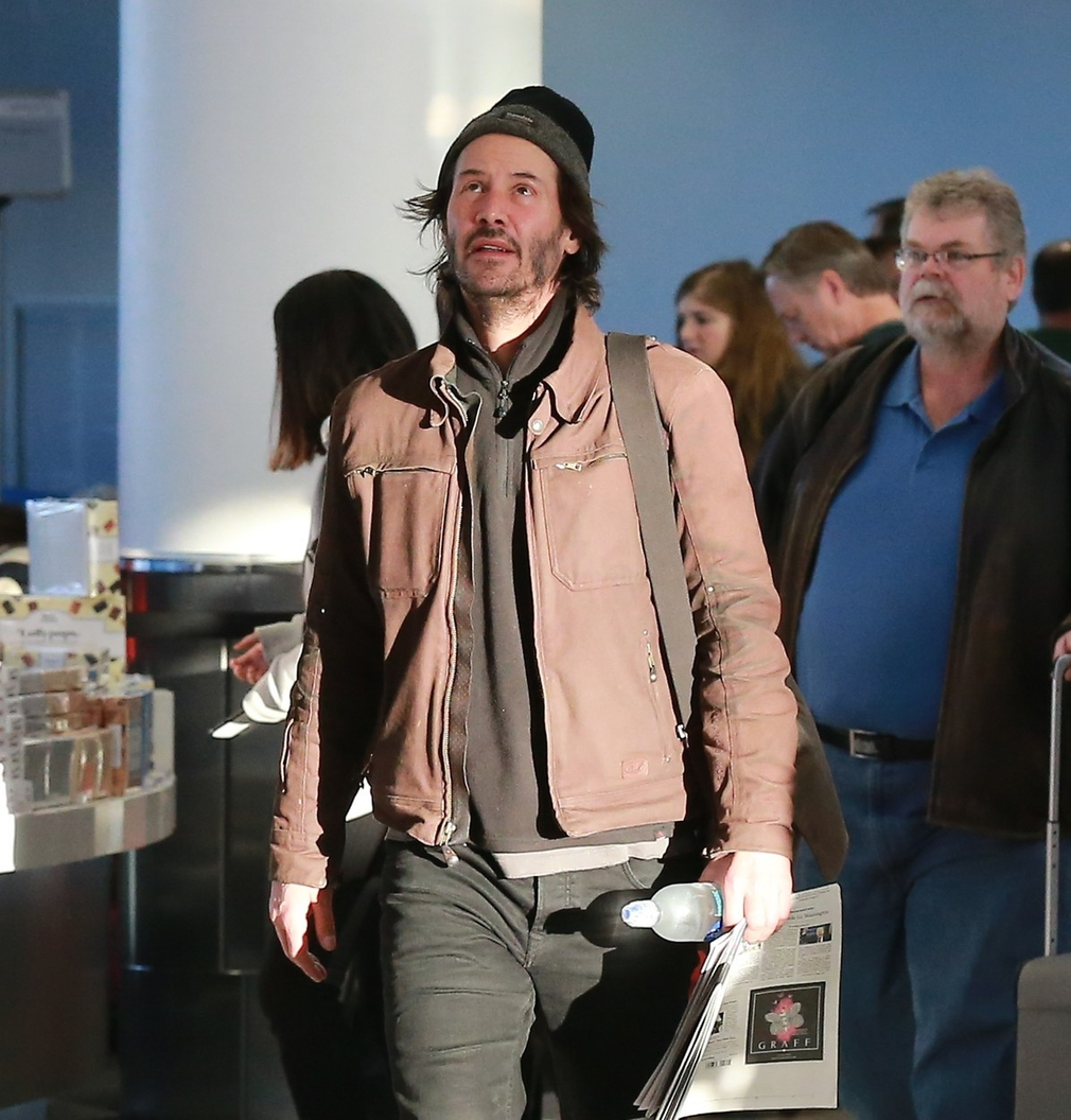 Keanu Reeves v LA
