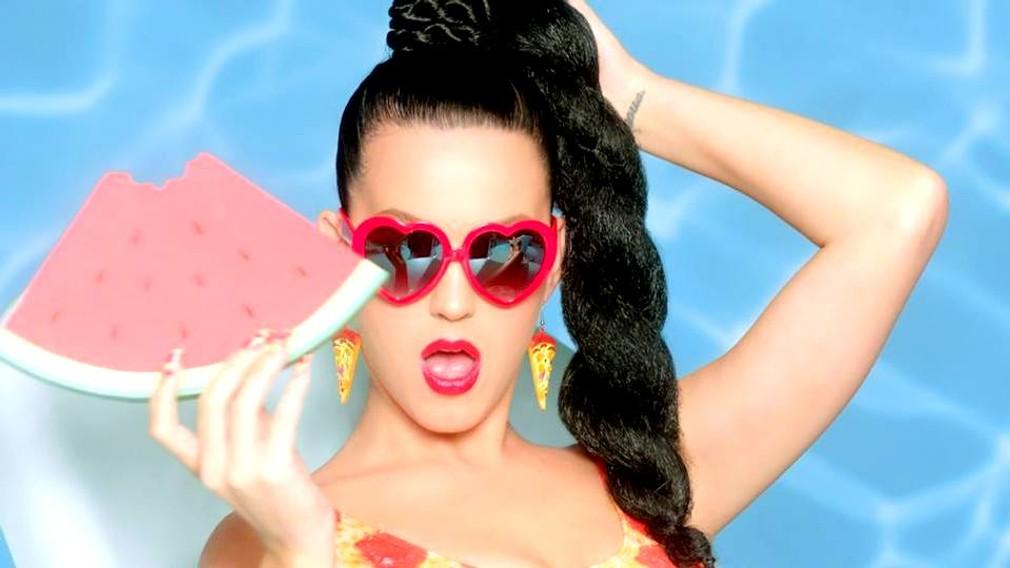 Katy Perry s melónom