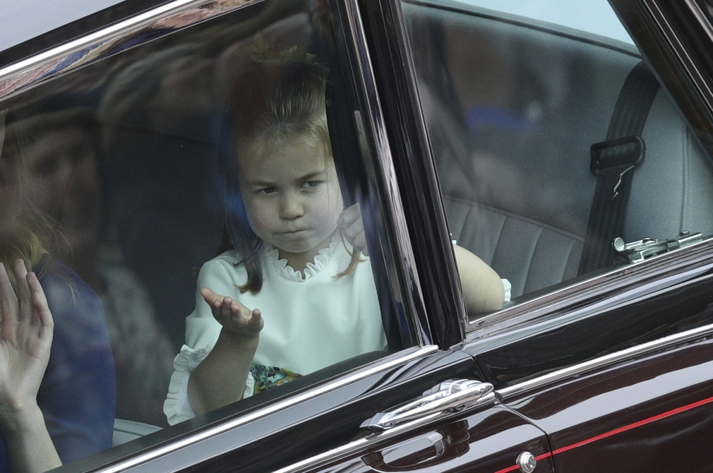 31314115f5b5 Príchody hostí na kráľovskú svadbu. Charlotte