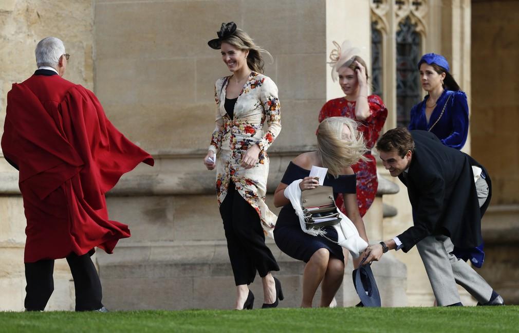 4352731547a2 Príchody hostí na kráľovskú svadbu