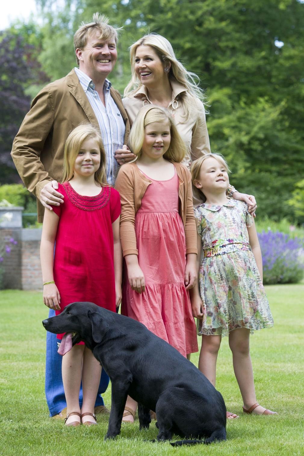 Holandská kráľovská rodina
