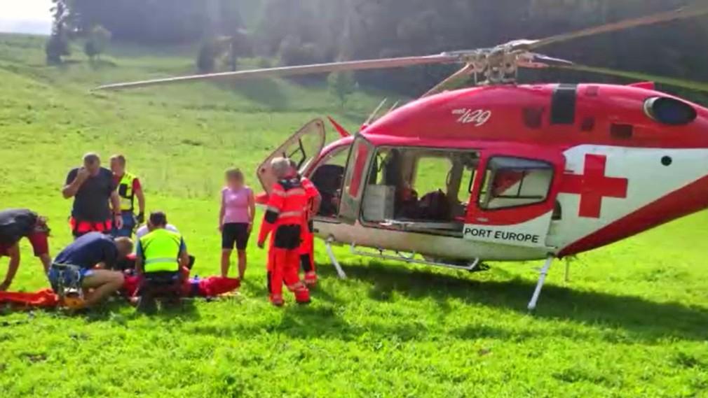 Horskí záchranári zasahovali v Malej Fatre. Iba 9-ročné dievča spadlo v úzkej rokline