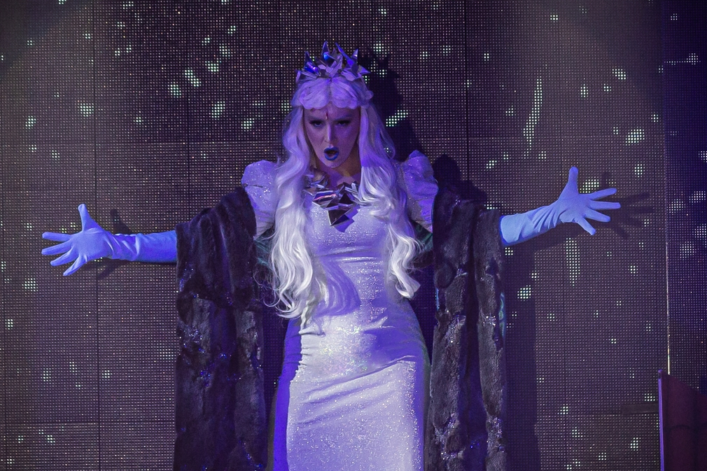 Barbora Švidraňová v muzikáli Snehová kráľovná