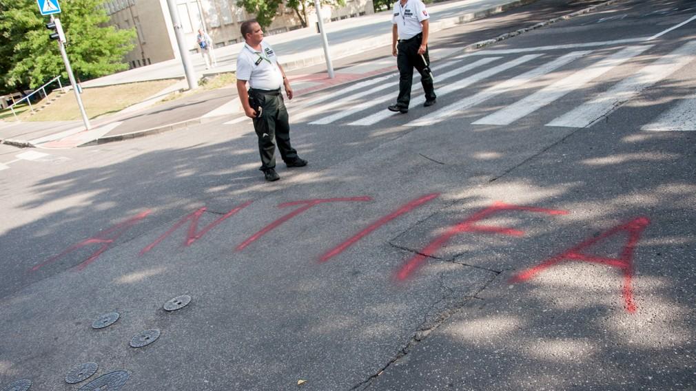 Pochod extrémistov, Bratislava