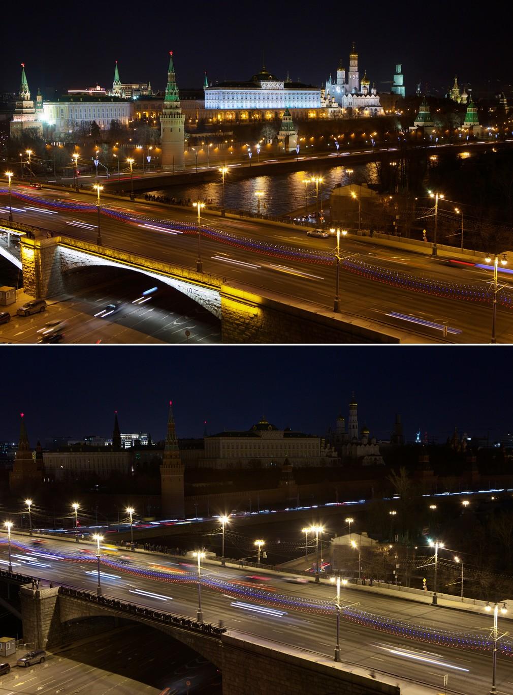 Hodina Zeme - Kremeľ v tme