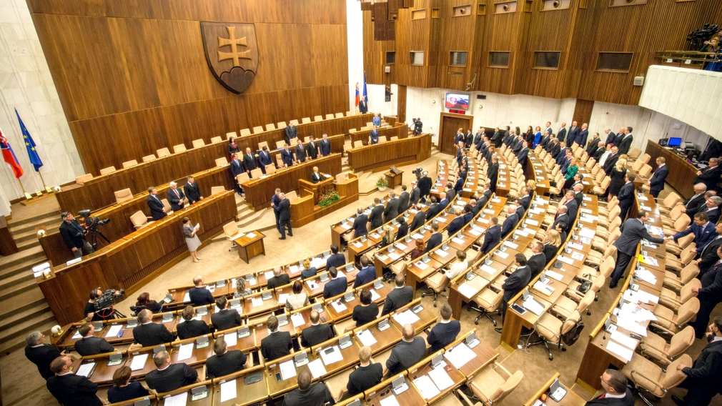 parlament NR SR celok balkón