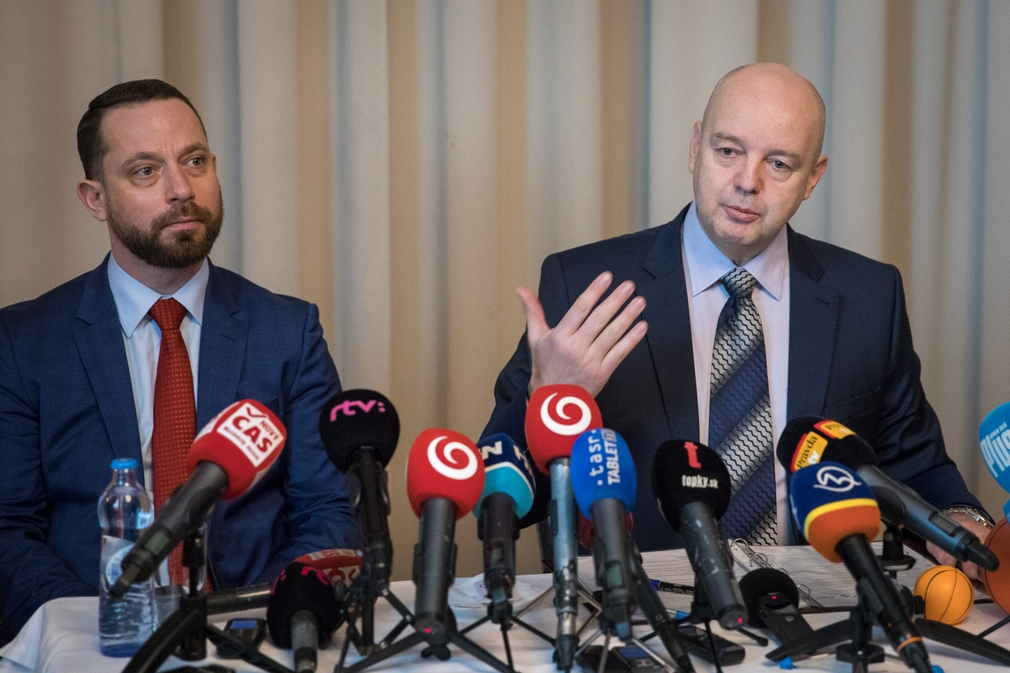 Pavol Rusko a Marek Para