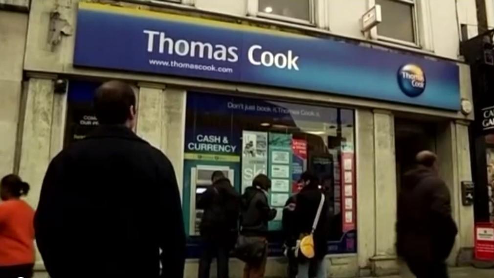 Cestovná kancelária Thomas Cook oznámila bankrot