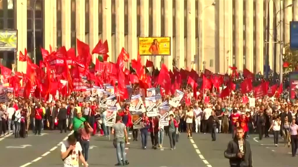 Protesty v Rusku1970