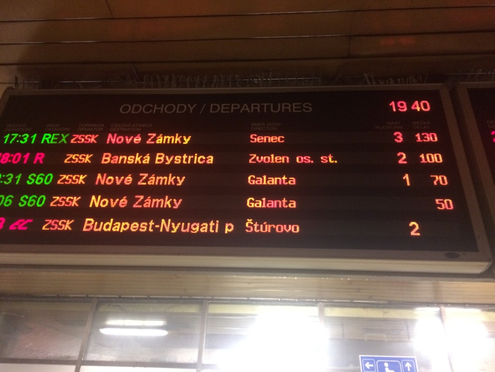 Meškanie vlakov pre nehodu v Bernolákove