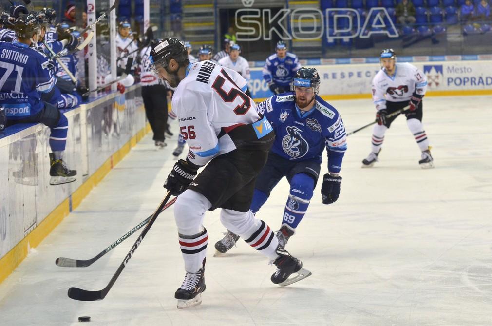 9.kolo Tipsport ligy HK Poprad – HC´05 iClinic Banská Bystrica