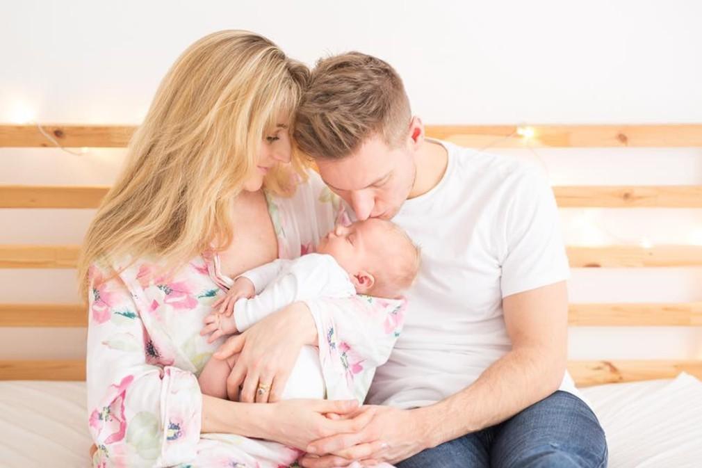 Thomas Puskailer s rodinou