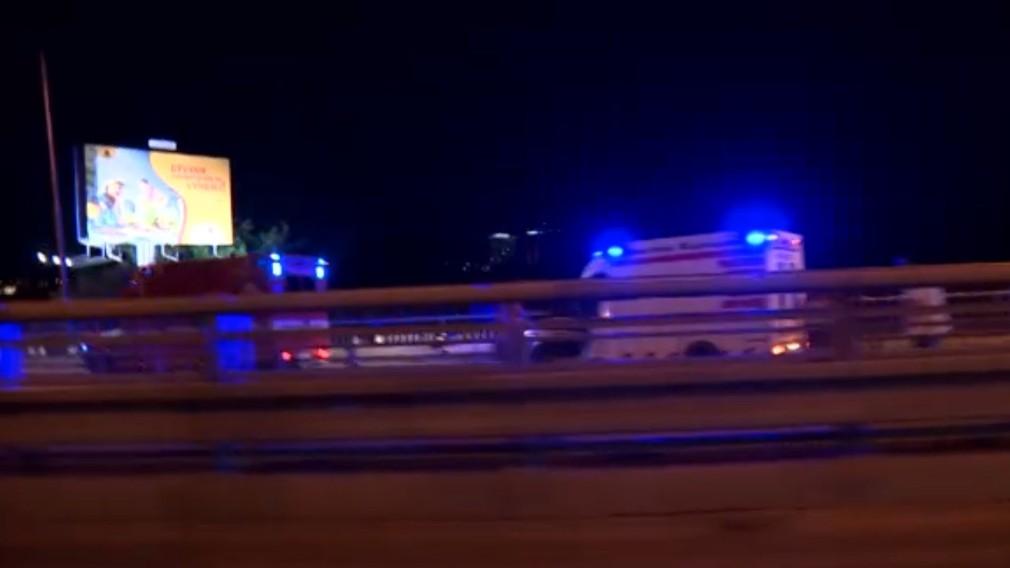 Autonehoda na Prístavnom moste