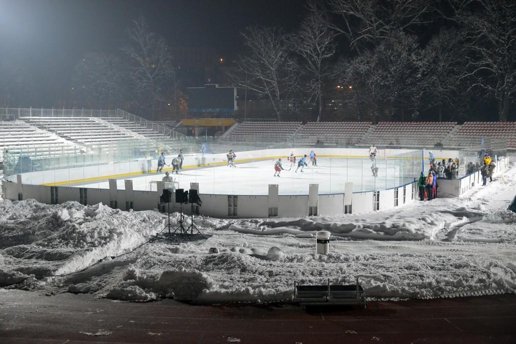 Testovací zápas pred Winter Classic Games