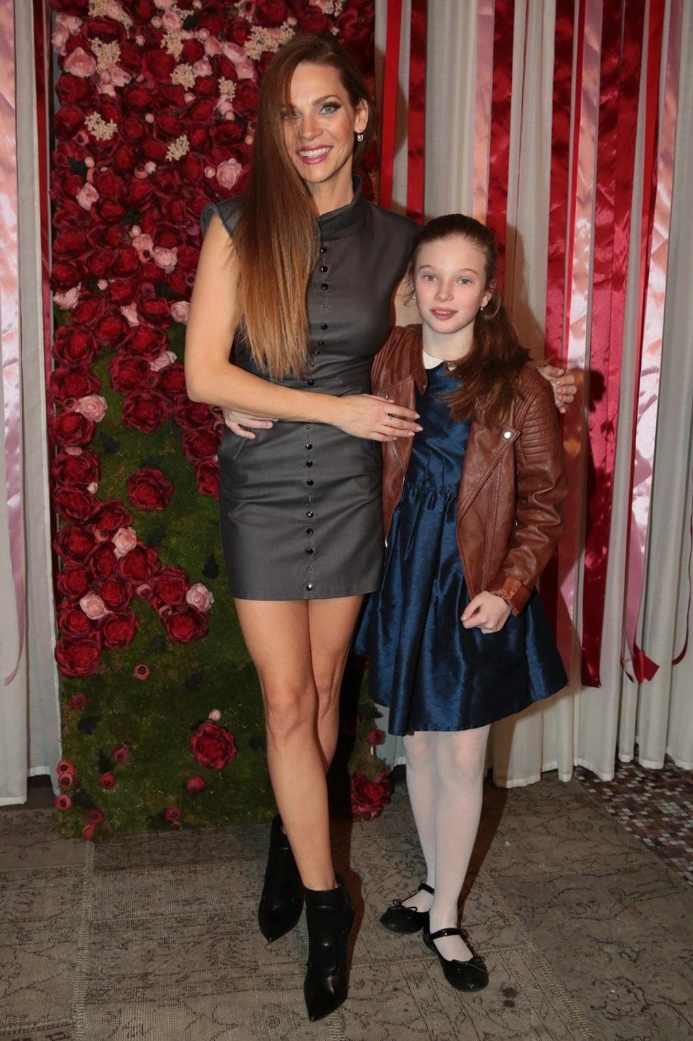 Andrea Verešová a jej dcéra Vanessa