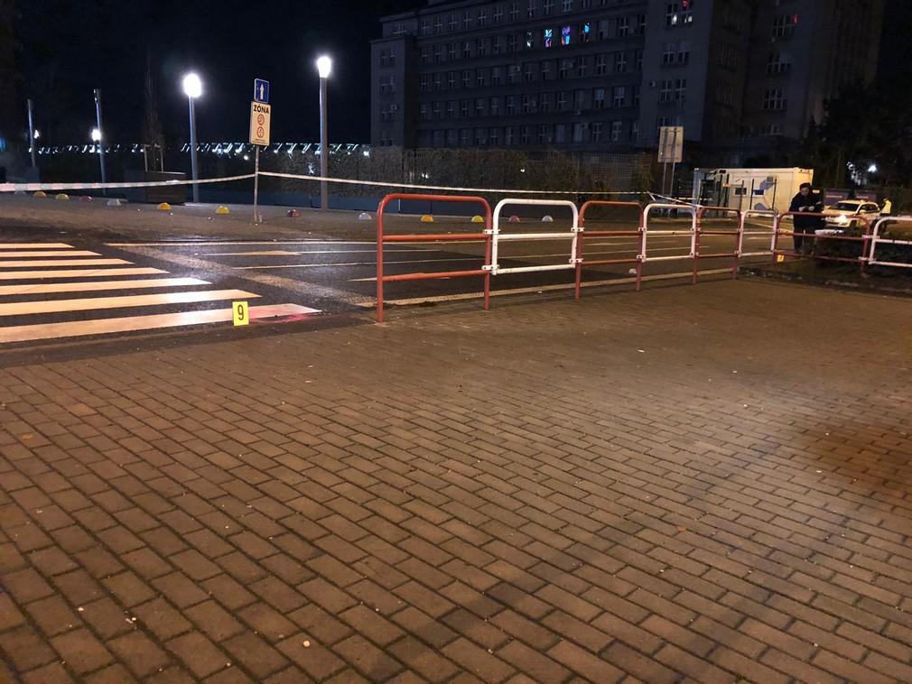 Nočná streľba v Bratislave