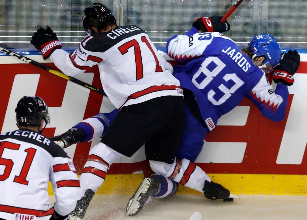 MS v hokeji 2019, Slovensko Kanada