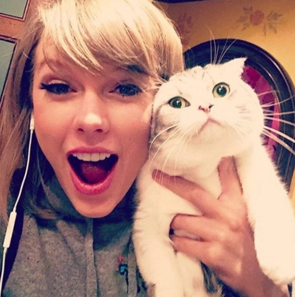 9.miesto - Taylor Swift 2,2 million likeov