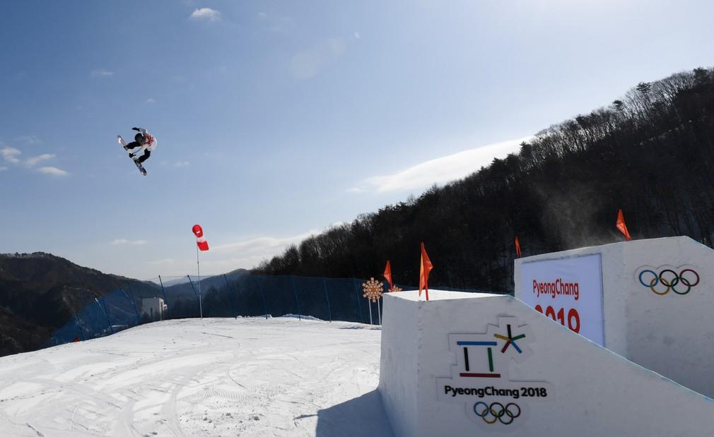 Klaudia Medlová v slopestyle na ZOH 2018
