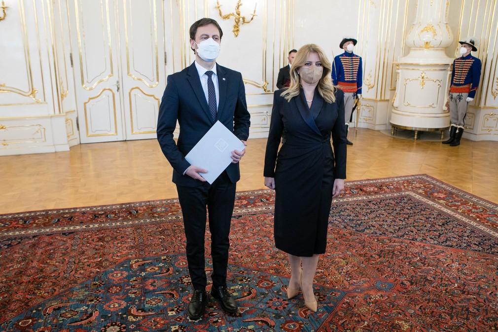 Hlava štátu prijala demisiu predsedu vlády Igora Matoviča