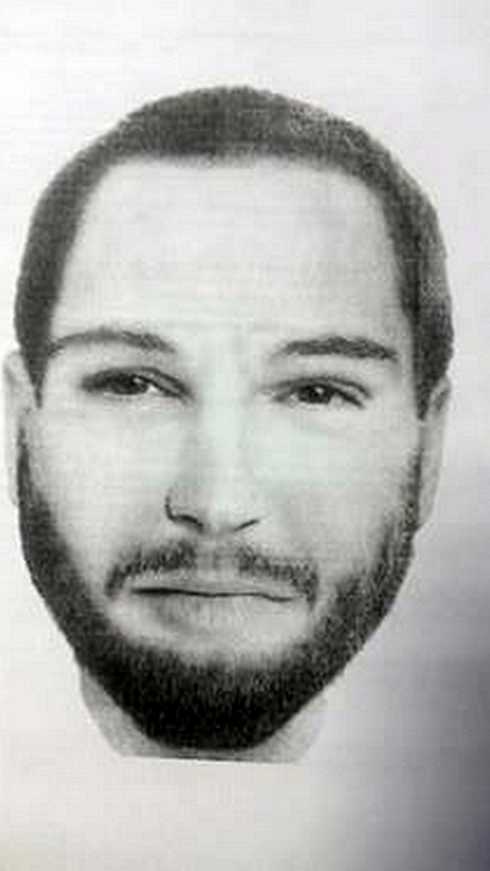 identikit osoby, ktorá sa mala pohybovať v okolí domu Jána Kuciaka