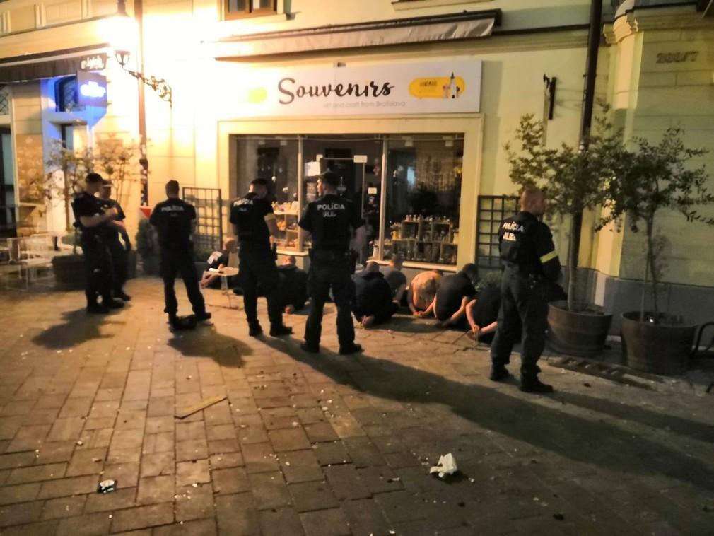 Bitka na Ventúrskej ulici v Bratislave