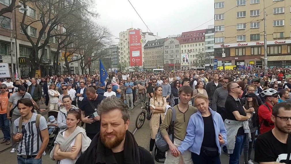 Za slušné Slovensko Bratislava