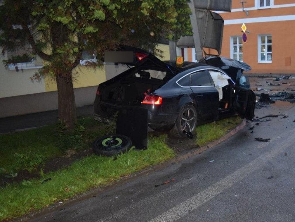 Nehoda Trstená
