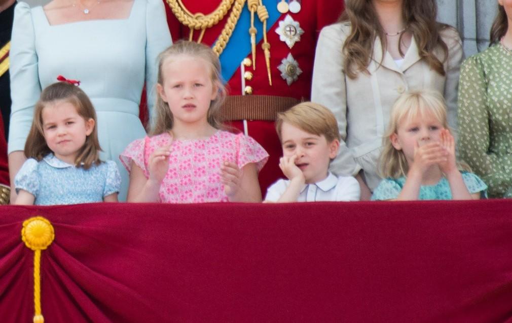 Kráľovské deti - princ George a princezná Charlotte