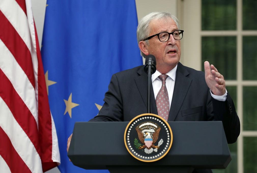 Juncker k dohode o zrušení ciel pre EÚ