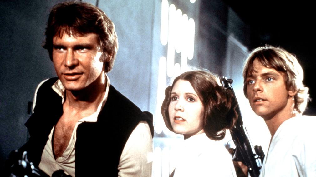 Harrison Ford v Star Wars z roku 1977