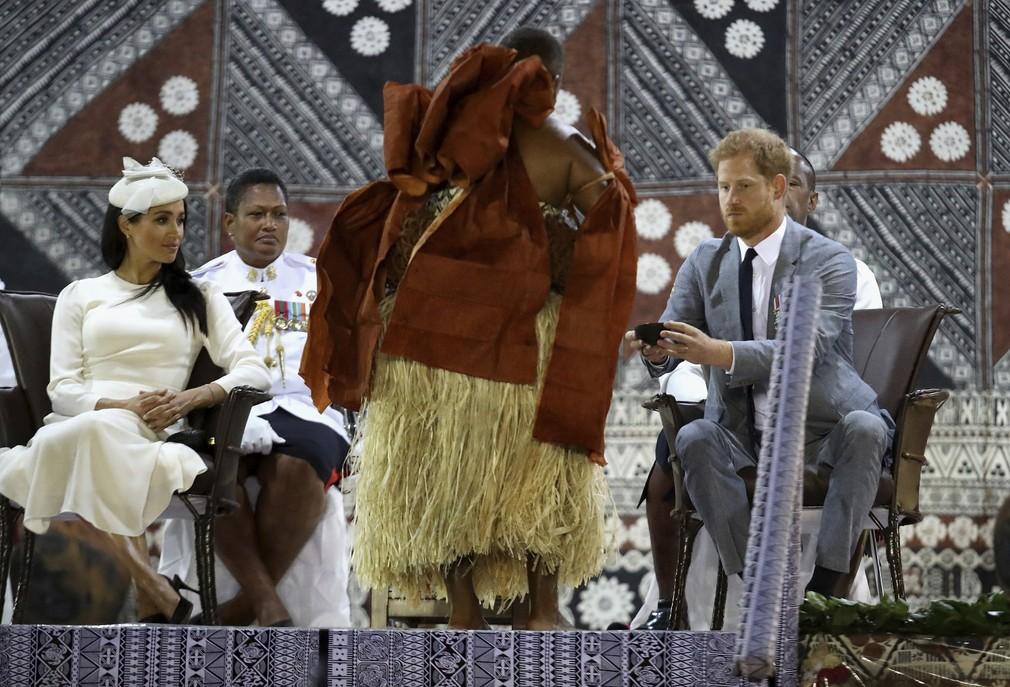Harry a Meghan na Fidži