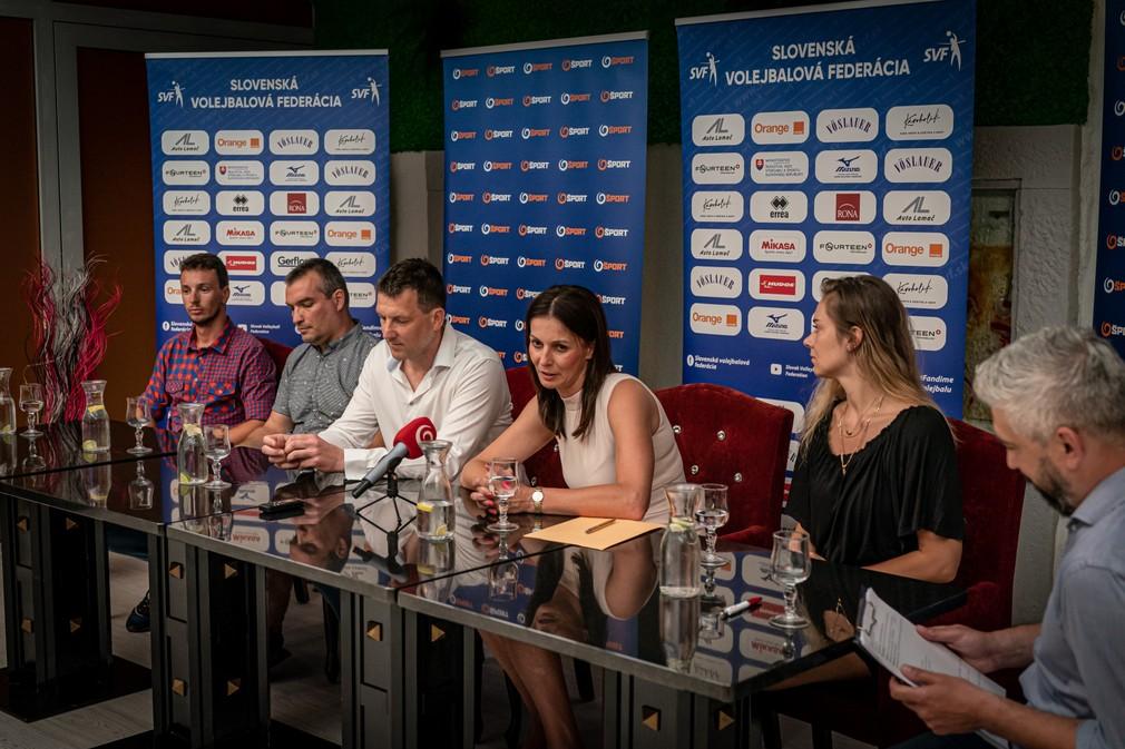 JOJ Šport tlačová konferencia so SVF