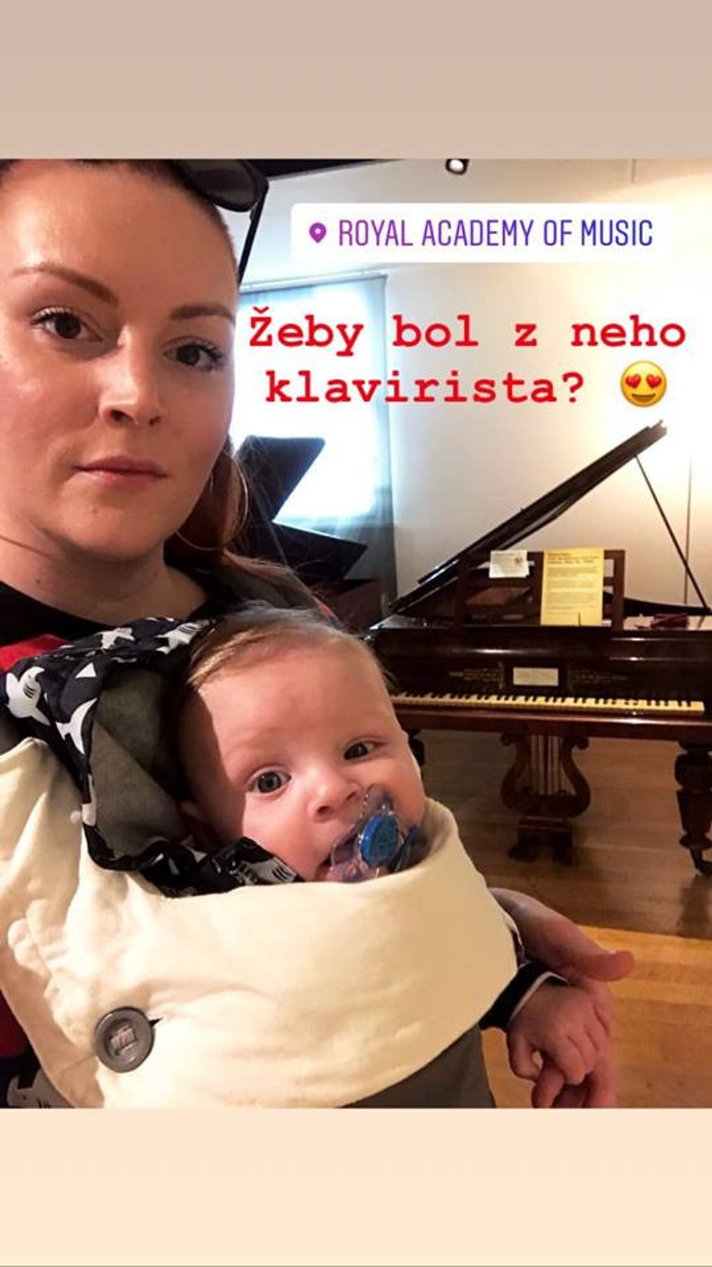 Barbora Švidraňová so synčekom
