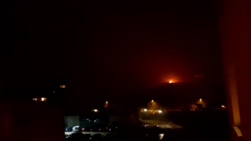 Hasiči zasahovali nad Gelnicou. Vážny požiar videli už zo stanice