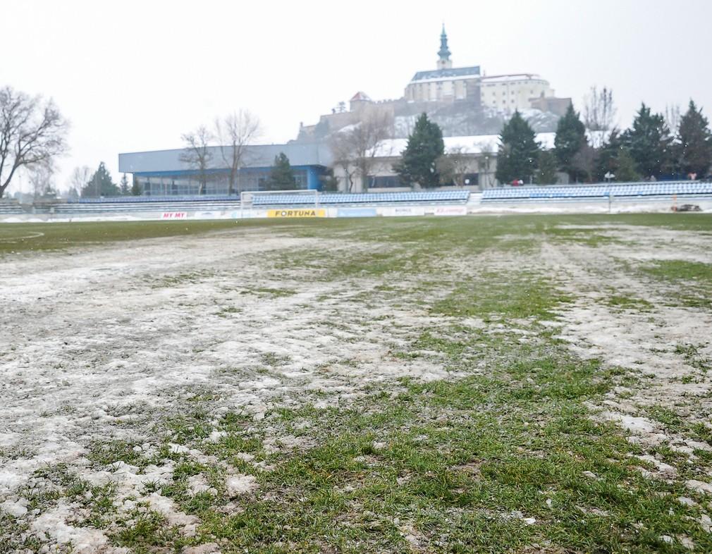 Zápas Nitra - Trnava odložili pre nespôsobilý terén