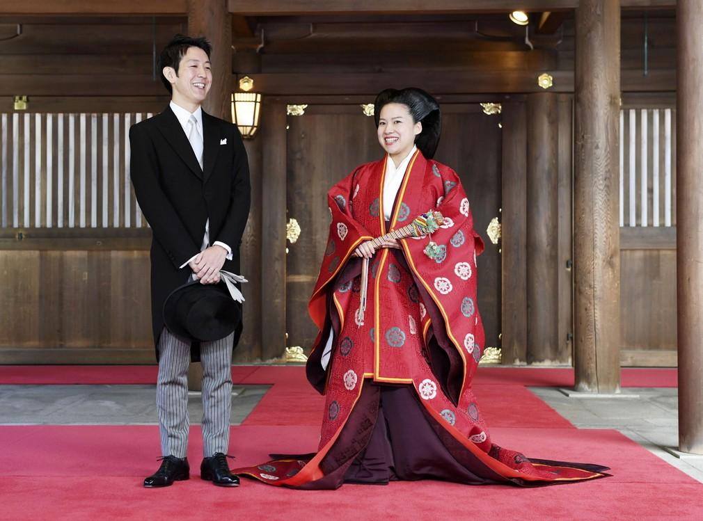 Svadba japonskej princeznej