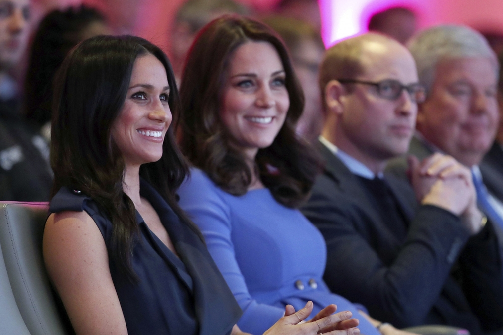 Meghan, Kate a William
