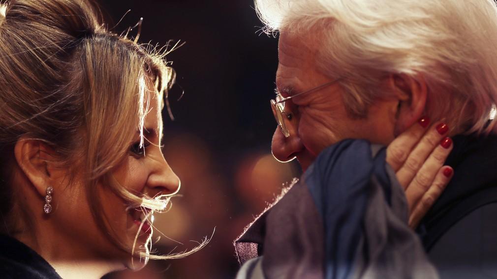 Richard Gere s manželkou