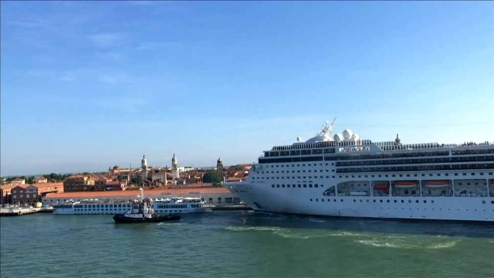 [multi] Benátky - zákaz lodí 7915