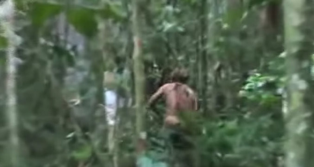 Tarzan v brazílskom pralese