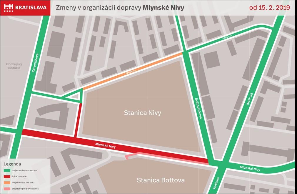Mapa M. nivy