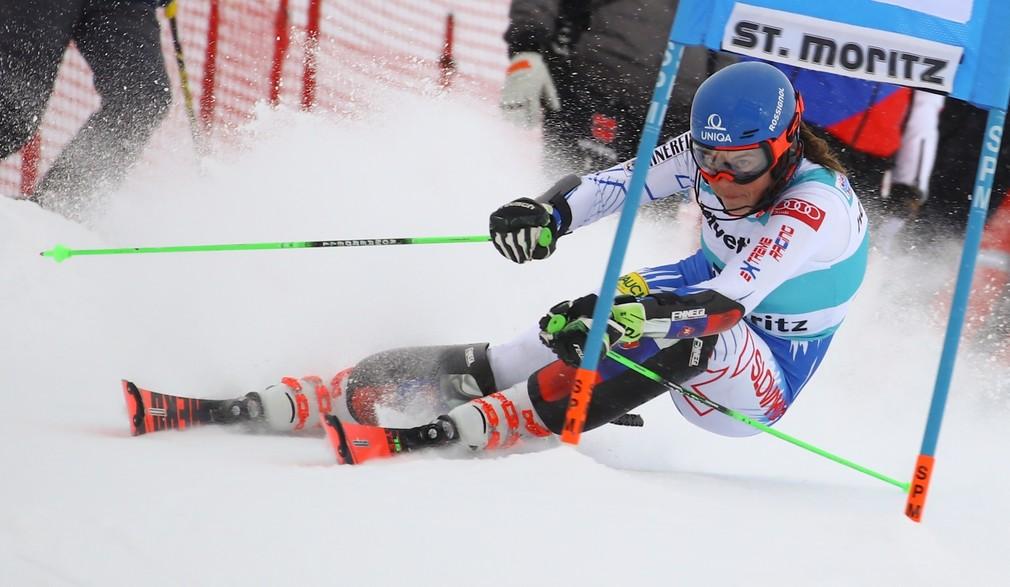 Petre Vlhová Paralelný slalom SP v St. Moritzi