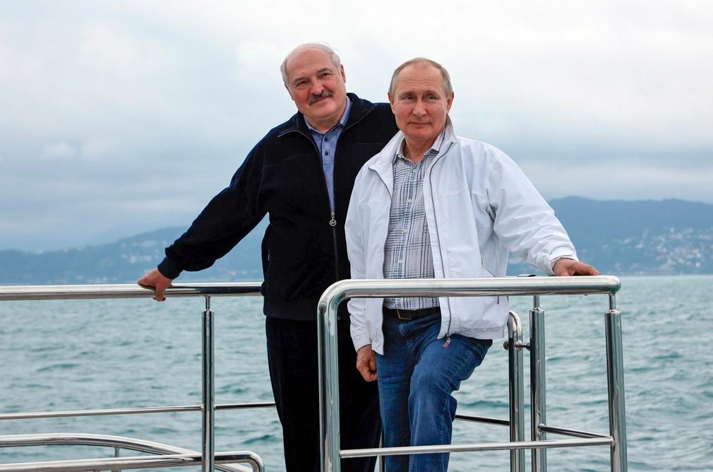 Lukašenko navštívil Putina
